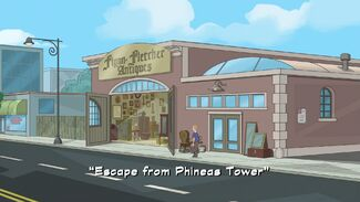 Escape from Phineas Tower title card