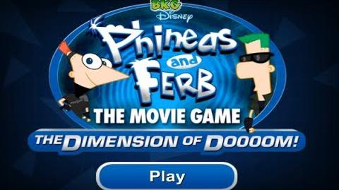 Phineas and Ferb The Movie Game Dimension of Doom 3D Game - Best Kid Games