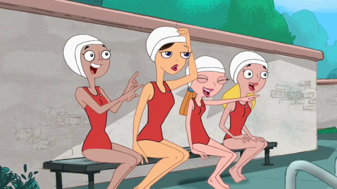 image vanessa swim png phineas and ferb wiki fandom powered