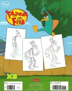 Learn to Draw Phineas and Ferb - back cover