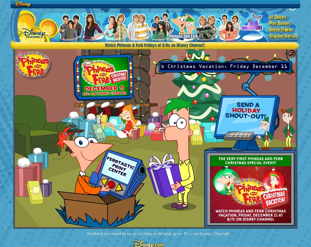 Image Disney 39 S Christmas Pnf Phineas And