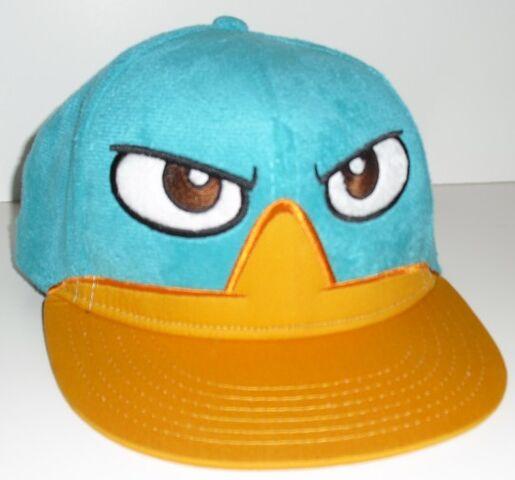 File:Fuzzy Perry the Platypus baseball cap.jpg