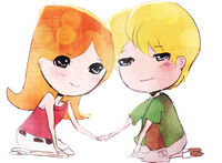 Candace and Jeremy chibis, by ThePinkSparkles