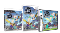 PnF AtSD video game - Wii, PS3, DS
