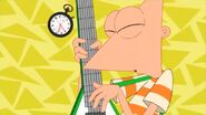 Phineas' final guitar solo (Watchin' and Waitin')
