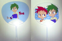Uchiwa of phineas and Ferb, by isuzu9