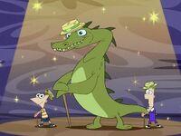 Phineas, Nasi und Ferb