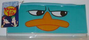 Perry face pencil case