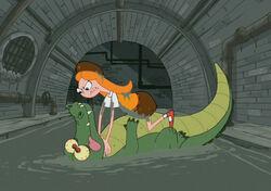 Candace vs Aligator