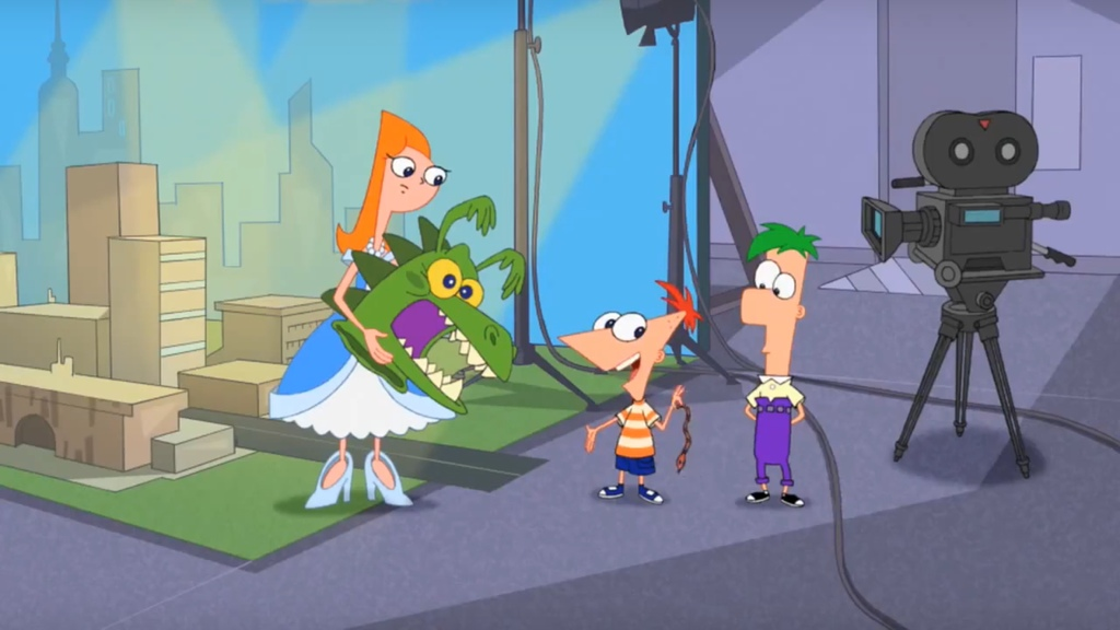 Phineas and Ferb- Lights, Candace, Action!