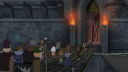 S04E25a Welcome to my castle party!