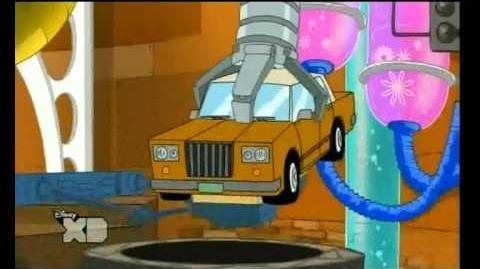 Phineas und Ferb - Die Autowäsche Song Im phintastisch, ferbulösen Car Wash
