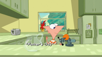 REAL Father's Day title card in HD