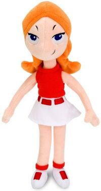 Candace 11 inch plush toy