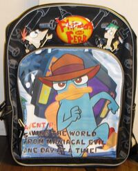 Backpack - Agent P, saving the world