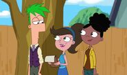Teenage Ferb with Adyson and Holly