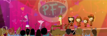 PFT reunion concert stage