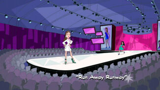 Run Away Runway title card