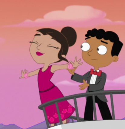 Image Mishti Flying Phineas And Ferb