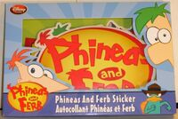 Phineas and Ferb Sticker set - front