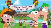Phineas e Ferb - Canção do Aniversário de Isabella PT-PT (Isabella's Birthday Song)