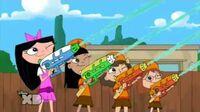 Phineas e Ferb - Apanhar Essa Gelatina PT-PT (Squirt that Gelatin Monster)