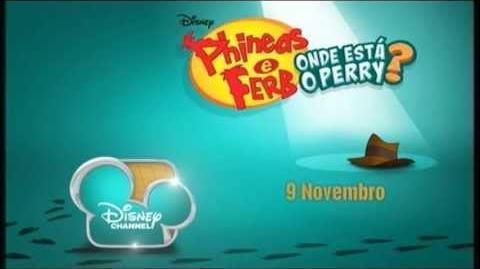 Phineas & Ferb Onde Está o Perry? - Parte I (Promo)