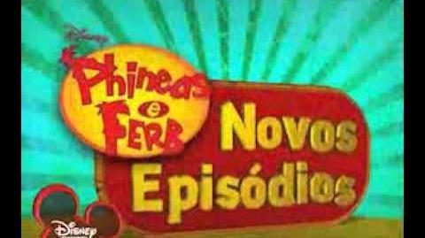 Phineas e Ferb - Promo - 3ª Temporada (Portugal)