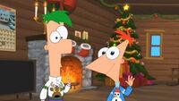 Um Natal em Família Com Phineas e Ferb (Imagem 26)