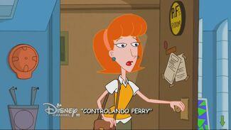 Controlando Perry - Cartão do Título