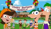 Feliz Aniversário Isabella Imagem 123