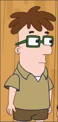 Beckham Fletcher Moreno com Óculos Quadrado