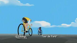 Tour de Ferb - Cartão do Título