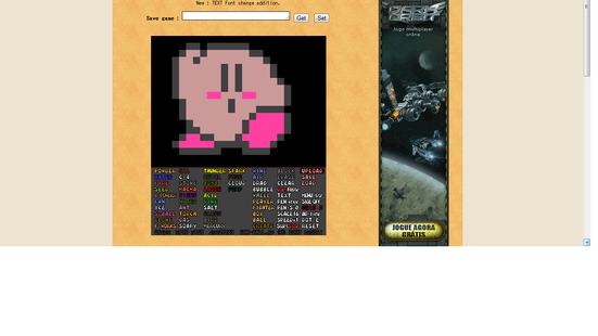 8-bit kirby in PG
