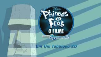 Phineas e Ferb O Filme Através da Segunda Dimensão - Cartão de Título