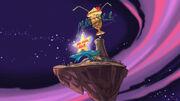 No Espaço Sideral (Imagem 384)