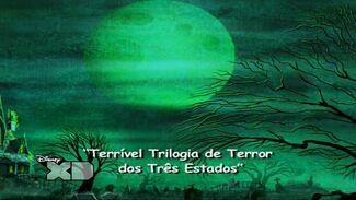 Terrível Trilogia de Terror dos Três Estados - Cartão do Título