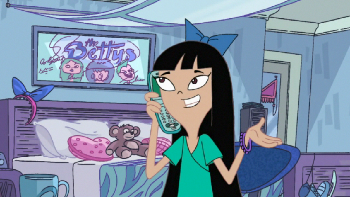 stacy hirano phineas e ferb wiki fandom powered by wikia