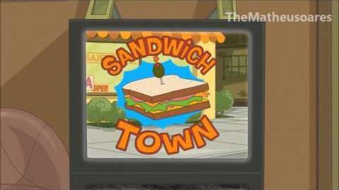 Phineas e Ferb - Jingle da Cidade do Sanduíche (HD) - Dublado em Português BR