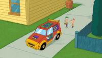 O Carro de Phineas e Ferb