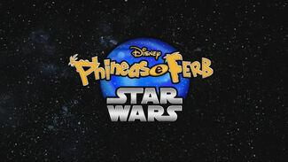 Phineas e Ferb Star Wars - Cartão do Título