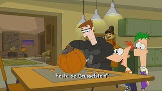 Festa de Drusselstein - Cartão do Título