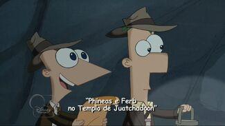 Phineas e Ferb no Templo de Juatchadoon - Cartão do Título