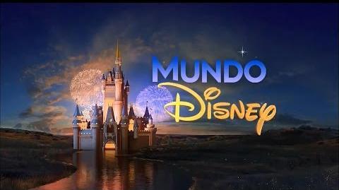 Chamada Mundo Disney no SBT