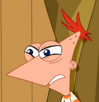 Phineas angry