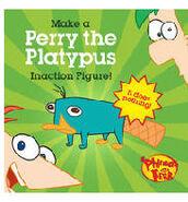 Perry o Ornitorrinco Figura Inativa no Mundo Real Imagem 3