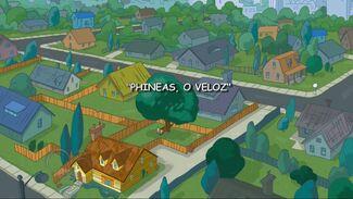 Phineas, o Veloz - Cartão do Título