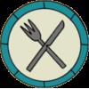 Distintivo de Cozinheira