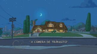 A Câmera de Trânsito - Cartão do Título