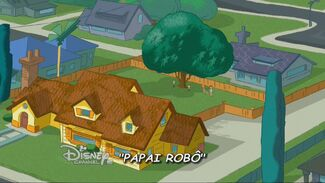 Papai Robô - Cartão do Título